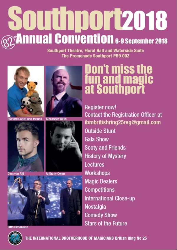 Sourhport 2018 Convention